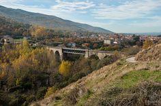 El puente de hierro de Hervás
