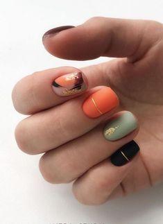 Nails Most Beautiful Fall Nail Designs 2019 Amazing autumn nails colors 2019 idea! Nails Most Beautiful Fall Nail Designs 2019 Gorgeous Nails, Pretty Nails, Gel Nails, Acrylic Nails, Shellac, Coffin Nails, Matte Nail Art, Nagellack Trends, Autumn Nails