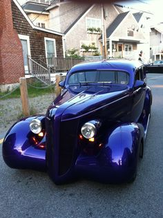 Really beautiful and customized inside and out  '37 Buick