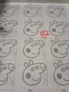 Loving Creations for You: Peppa Pig Macarons with Raspberry Swiss Meringue Buttercream & Chocolate Ganache