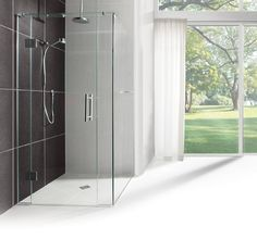 Crest Sereno Frameless Showers Custome frameless shower, all sizes & shapes available. http://www.plumbin.co.nz/shop/showers/sereno.html