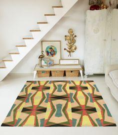 Nuria Mora #rugs #pattern