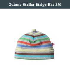 Zutano Stellar Stripe Hat 3M. Zutano Stellar Stripe Hat 3M.