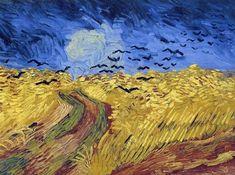 Van Gogh - Campo de trigo com corvos, 1890