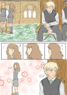 DracoxHermione Comic: Observer by 19Gioia93.deviantart.com on @DeviantArt