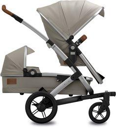 Ein Geschwisterwagen für ein Baby und ein Kleinkind: Der Joolz Geo Earth Elephant Grey Duo Geschwisterwagen ist ein cooler Kinderwagen für unterschiedlich alte Kinder!