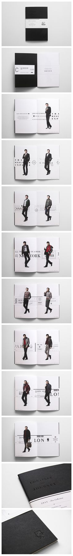 "CROCODILE AW12/12 CATALOG Base on the theme ""Urban Traveler"", we have designed the catalog for Crocodile AW12/12 collection. http://www.blow.hk"