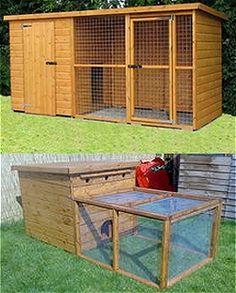 aviary & shelter for ground birds