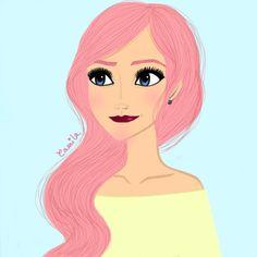 """Based on Elsa from """"Frozen"""" :) 2014."""