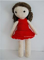 Ravelry: Basic Crochet Doll Pattern pattern by LisaAuch