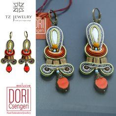 Exclusive earrings from Dori Csengeri! #DoriCsengeri #soutache #exclusive…