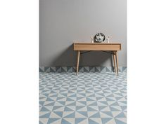 From the Futura collection, available in different colours and designs. Concrete Look Tile, Geometric Tiles, Sapphire Color, Splashback, Decorative Tile, Tile Design, Wall Tiles, Colours, Flooring