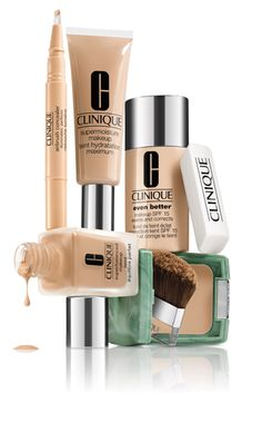 I wear everything clinique