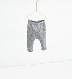 Image 1 of Flecked trousers from Zara
