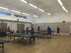 Jpoining a local table tennis club can help improve your ping pong skills quickly