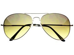 Green Lens Metal Aviator Sunglasses Silver A812 – FREYRS - Sunglasses at Affordable Prices