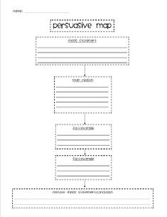 Beginning expository graphic organizer to guide students through ...