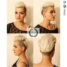 Laat jezelf stralen met deze aanlokkelijke blonde korte kapsels #hairstyles #hairdare #daringhair #womenshair