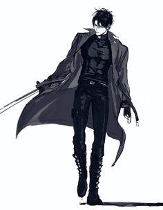 Handsome Anime Guys, Cute Anime Guys, Hot Anime Boy, Anime Boys, Anime Art Fantasy, Manga Boy, Manga Anime, Fantasy Characters, Anime Characters