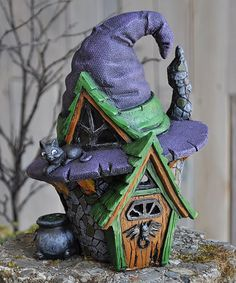 Look at this Witch House Décor on #zulily today!