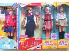 yahoo.aleado.com Yahoo Auctions: uniform. Lilian high school student licca..... Judy  total4 body
