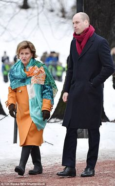 The 80-year-old queen consort defied the years in a jaunty orange coat teamed with a patte...
