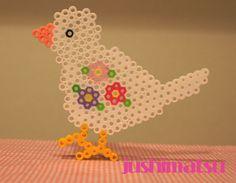 Bird perler beads