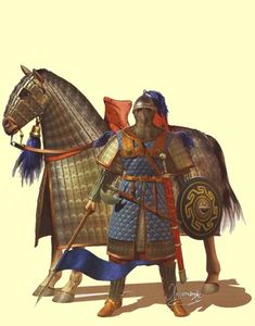 10 Things You Should Know About The Early Medieval (Eastern Roman) Byzantine Army. Armadura Medieval, Byzantine Army, Varangian Guard, Horse Armor, Early Middle Ages, Roman History, Medieval Armor, Dark Ages, Roman Empire
