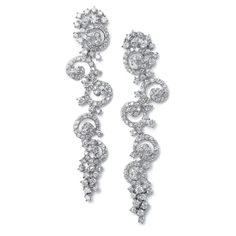 Earrings by Mariell, available at Mary Kay's Bridal Graduation Jewelry, Prom Jewelry, Crystal Jewelry, Wedding Jewelry, Wedding Belts, Wedding Pins, Wedding Ideas, Wedding Wishes, Wedding Attire