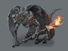 Gargoyle from Dark Souls III