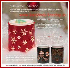 #Scentsy #Christmas Warmers www.SaraVerde.Scentsy.us