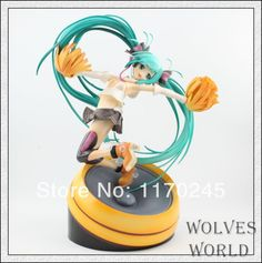 """Free Shipping beautiful 8.7"""" Volcaloid Hatsune Miku Singing Anime PVC Action Figure Collection Model Toy Cheerful Ver.miku #Affiliate"""