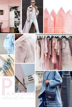 Pantone Color of the Year 2016 - Rose Quartz and Serenity - FusionBeads.com BlogFusionBeads.com Blog