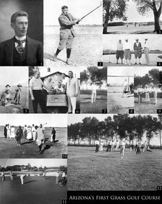 Arizona's First Grass Golf Course was at the San Marcos Hotel.  chandlerpedia.org.