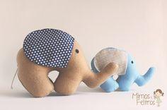 Elefantinhos de Feltro