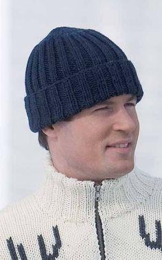 Miehen pipo Novita Isoveli (arkistomalli) Knitting Yarn, Caps Hats, Knitted Hats, Knit Crochet, Crochet Patterns, Beanie, Womens Fashion, Crafts, Villa