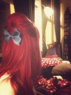 My Beehive red hair