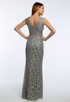 Sequin Lace Dress #camillelavie