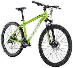 8b81f850260 Diamondback Bicycles Overdrive ST Hardtail Mountain Bike, Green, 22