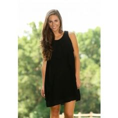 Flutter By Dress-Black - $39.00