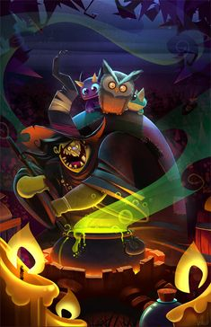 featured art by frogbillgo on DeviantArt Character Concept, Character Art, Concept Art, Character Design, Halloween Art, Whimsical Art, Illustrations Posters, Cute Art, Amazing Art
