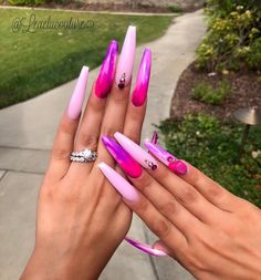 Pinterest photo - coffin #nails #nailscoffin #coffinnails