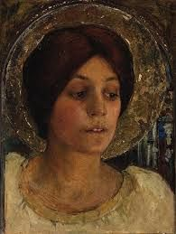 Image result for Edgar Maxence French painter