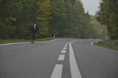 "Downhill in Czech republic , through the forest , Enjoy "" Pedro Insane speed !! #downhill #skate #longboarding #czech #pinit"