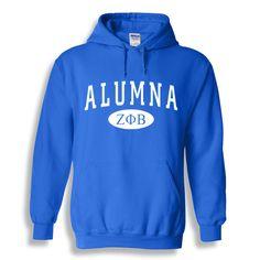 Zeta Phi Beta Alumna Sweatshirt Hoodie from GreekGear.com