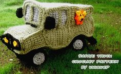 Amigurumi Safari Jeep