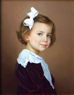 Oil portrait by Portraits, Inc.'s artist