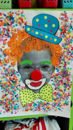 Home Decorating Style 2020 for Bricolage Cirque Maternelle, you can see Bricolage Cirque Maternelle and more pictures for Home Interior Designing 2020 at Coloriage Kids. Clown Crafts, Carnival Crafts, Circus Crafts Preschool, Art For Kids, Crafts For Kids, Arts And Crafts, Caleb Y Sophia, Theme Carnaval, Circus Art