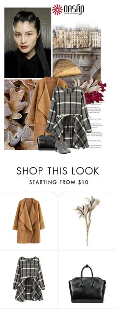 """""""oasap.com... fall3"""" by lagomera ❤ liked on Polyvore featuring Pier 1 Imports, women's clothing, women's fashion, women, female, woman, misses and juniors"""