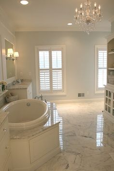This is the color for my living room. Bathroom Renos, Master Bathroom, Bathroom Ideas, Bathroom Interior, Paint Bathroom, Master Baths, Bathroom Designs, White Bathroom, Bath Remodel
